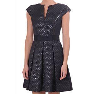 Ted Baker London Carice Metallic Jacquard Dress